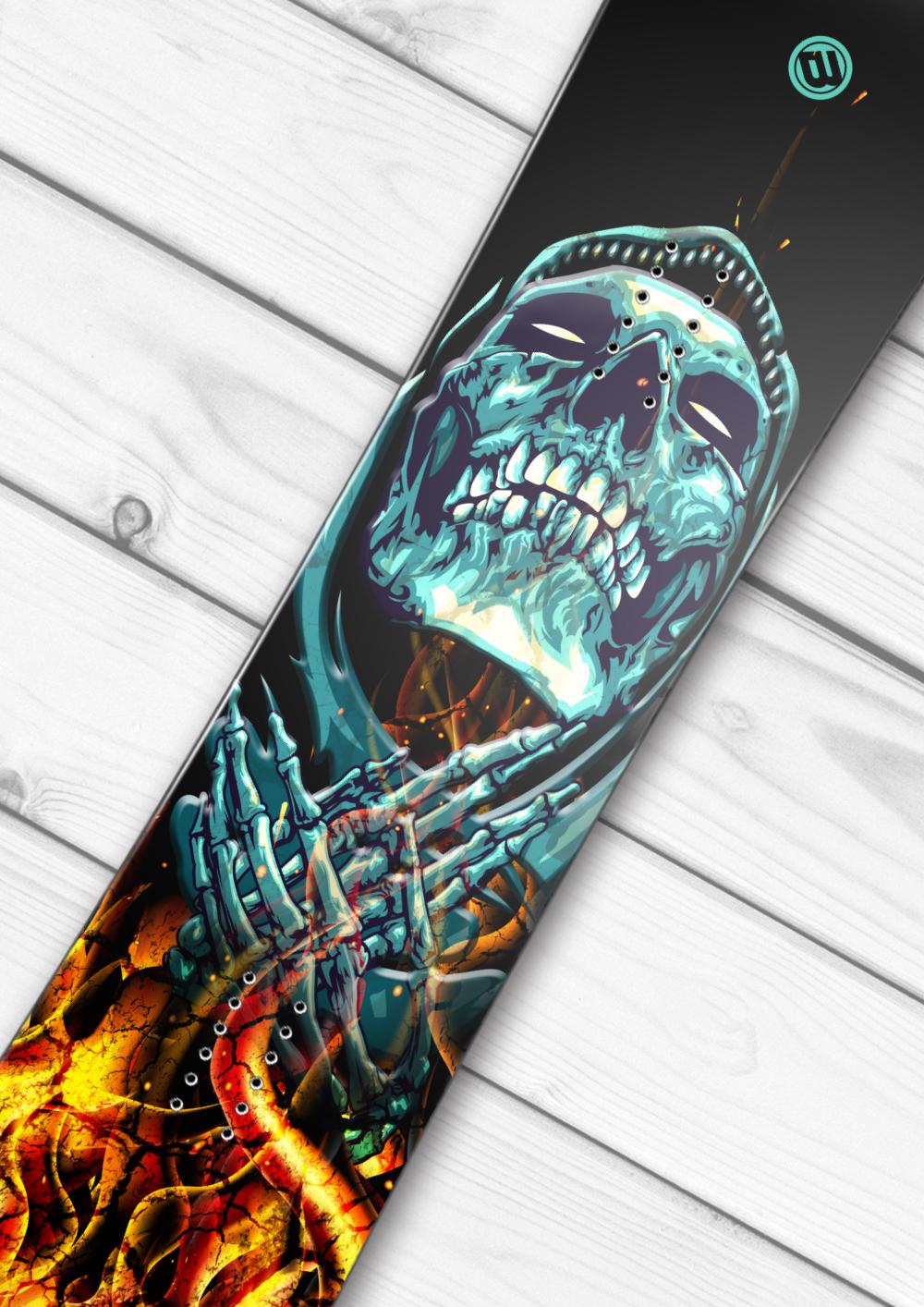 Reaper Snowboard Wrap Boardwraps